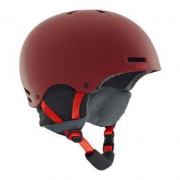 snowboardová/lyžařská helma Anon Raider 18/19 RED EU
