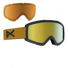 brýle na snowboard/lyže Anon Helix 2 Sonar 18/19 - MUSTARD/SONAR BRONZE BY ZEISS