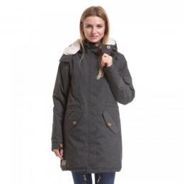 Dámská bunda Meatfly Mia 2 Parka 18/19 A - Charcoal Heather