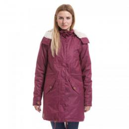 Dámská bunda Meatfly Mia 2 Parka 18/19 - B - Dark Purple Heather