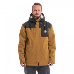 Zimní bunda Nugget Sherman 3 Jacket 18/19 A - Cumin Heather, Antracit Heather