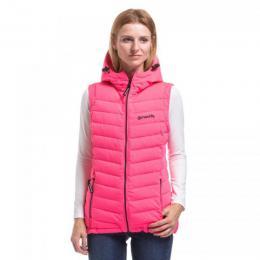 Dámská vesta Sista 3 Puff Vest 18/19 B - Pink