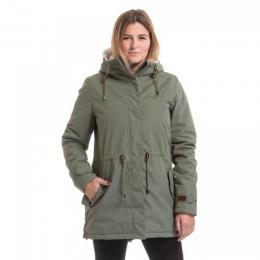 Dámská zimní bunda Nugget Lisa 3 18/19 A - Army Green