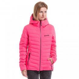 Dámská zimní bunda Meatfly Bella 3 Puff Jacket 18/19 B - Pink