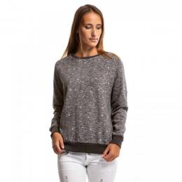 Mikina Meatfly Brody Pullover 18/19 C - Heather Dark Grey