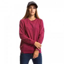 Mikina Meatfly Brody Pullover 18/19 D - Heather Wine