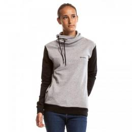 Mikina Meatfly Mei 18/19 B - Heather Grey/Black
