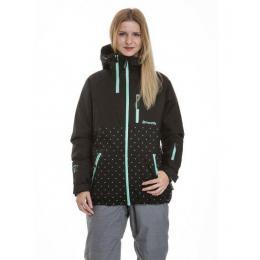 dámská zimní bunda Metfly Nim 3 18/19 A Black, Mint Logo Dot