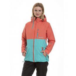 dámská zimní bunda Metfly Nim 3 18/19 B Mint Heather, Salmon Heather