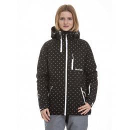 dámská zimní bunda Metfly Nim 3 18/19 F - Black/White Logo Dot