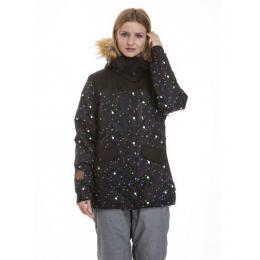 dámská zimní bunda Meatfly Chelsea 3 Jacket 18/19 D - Lights Neon/Black