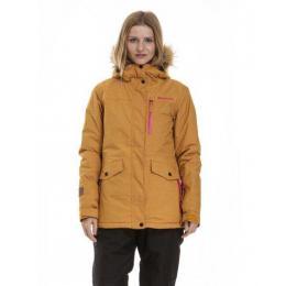 dámská zimní bunda Meatfly Chelsea 3 Jacket 18/19 F - Gold Heather