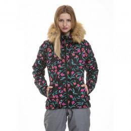 dámská zimní bunda Meatfly Bonie Jacket 18/19 - D - Kala Flowers