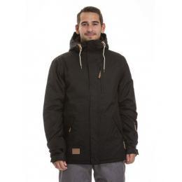 Pánská zimní bunda Meatfly Diego 2 Jacket 18/19 - C - Black