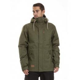 Pánská zimní bunda Meatfly Diego 2 Jacket 18/19 D Olive heather