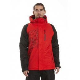 Pánská zimní bunda Meatfly Sim 18/19 G - Paul Red/Black