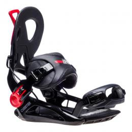 snowboardové vázání GNU Cheeter 18/19 - black