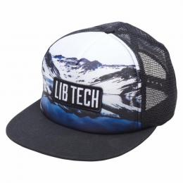 kšiltovka Lib Technologies Photo Trucker 18/19 WHT