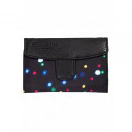 Dámská peněženka Meatfly Needle 18/19 D - Lights Neon/Black