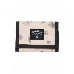 Peněženka Meatfly Lance Wallet 18/19 B - Stamps/Beige