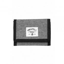 Peněženka Meatfly Lance Wallet 18/19 C - Heather Grey/Black
