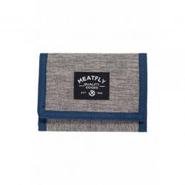 Peněženka Meatfly Lance Wallet 18/19 E - Heather Grey/Blue/Black
