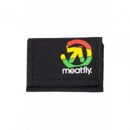 Peněženka Meatfly Harpoon Wallet 18/19 - A - Black, Green