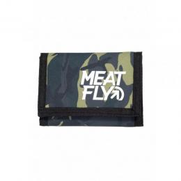 Peněženka Meatfly Arrow Wallet 18/19 C - Camo, Black