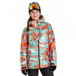 Dámská zimní bunda Nugget Spotty 4 18/19 A - Chameleon Pink