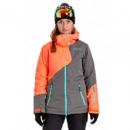 Dámská zimní bunda Nugget Spotty 4 18/19 C - Acid Orange/Stone Heather