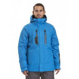 Pánská zimní bunda Meatfly Ridge 2 18/19 A - Blue Melange