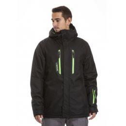 Pánská zimní bunda Meatfly Ridge 2 18/19 C - True Black