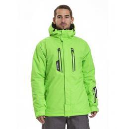 Pánská zimní bunda Meatfly Ridge 2 18/19 D - Safety Green