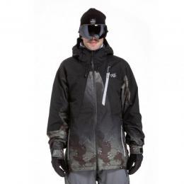Pánská zimní bunda Nugget Drone 2 18/19 A - Black/Delta Olive