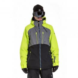 Pánská zimní bunda Nugget Mir 2 in 1 18/19 B - Safety Yellow/Grey/Black