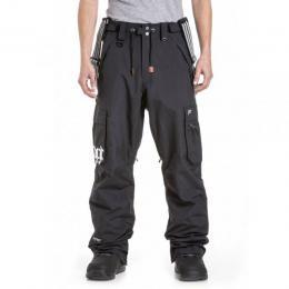 kalhoty na snowboard/lyže Nugget Dustoff 4 pants 18/19 - A-Black