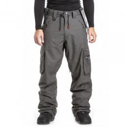kalhoty na snowboard/lyže Nugget Dustoff 4 pants 18/19 - B-Charcoal Heather