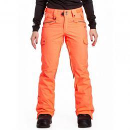 dámské kalhoty na snowboard/lyže Nugget Frida 4 pants 18/19 - B-Acid Orange