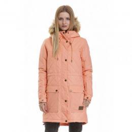 dámská zimní bunda Meatfly Sylva 2 Parka 18/19 B-Apricot Heather