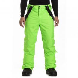 zimní kalhoty na lyže/snowboard Meatfly Ghost 3 Pants 18/19 I Safety Green