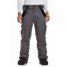 zimní kalhoty na lyže/snowboard Meatfly Ghost 3 Pants 18/19 D - Grey Heather