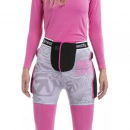 Chránič Meatfly Norris 2 Shorts 18/19 B - Grey, Pink