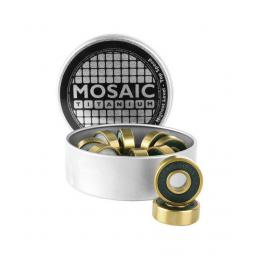 ložiska Mosaic Titanium black/gold