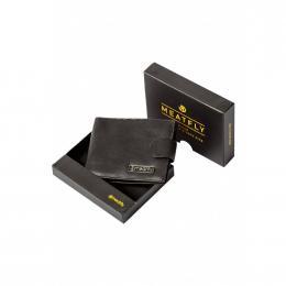 pánská peněženka Meatfly Riker Wallet 2019 A-Black