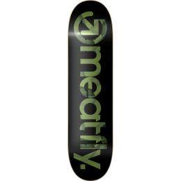 skate deska Meatfly Shade Olive SK8 Deck 2019 A-Black Shade Olive
