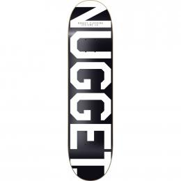 skate desky Nugget Trademark 3 SK8 Deck 2019 A-Black White
