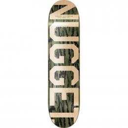 skate desky Nugget Trademark 3 SK8 Deck 2019 B-Oak Olive