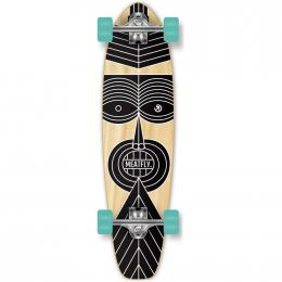 skateboard Meatfly Zulu Cruiser 2019 DOPRAVA ZDARMA A-Wood, Black 79cm x 21cm