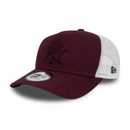 Kšiltovka New Era 940W Aframe Essential Trucker 2019 Maroon/White