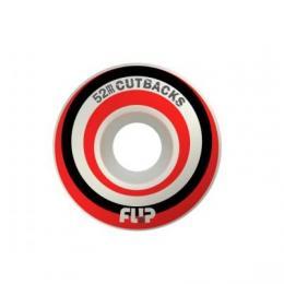 kola na skateboard Flip Cutback 2019 red 52mm